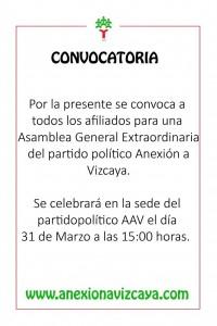 Asamblea Extraordinaria AAV