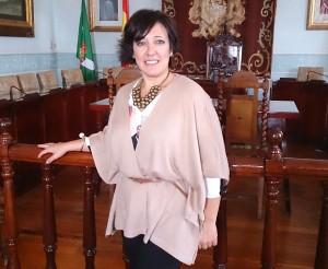 Ana Urrestarazu en Salón de Plenos