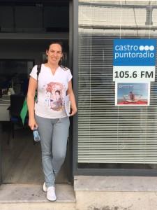 Elena Garcia en PR Cine Verano