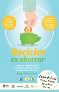 Campaña Reciclar el Ahorrar