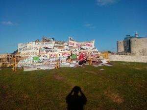 Pancartas Preferentes en Hoguera San Juan