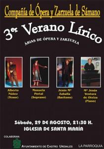 Compañia Opera y Zarzuela Samano_3er Verano Lirico