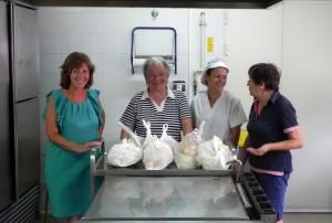 Voluntarias del comedor escolar de verano