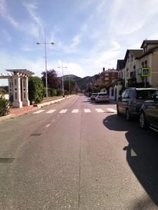 Paseo Ocharan sin coches