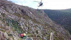 Senderista rescatado Pantano Juncal (2)