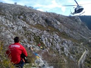 Senderista rescatado Pantano Juncal (4)