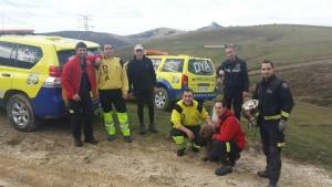 Senderista rescatado Pantano Juncal (5)