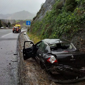 Accidente A-8 Depuradora (1)