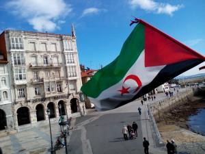 Bandera Sahara en Ayuntamiento (1)