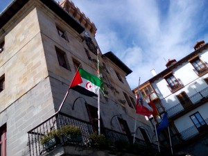 Bandera Sahara en Ayuntamiento (2)