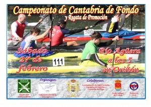 Campeonato de Cantabria de Fondo Piragüismo