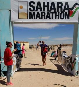 Ruben Perez Diego Maraton Sahara