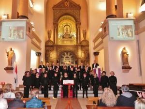 Coral Santa María en Bilbao (18-3-16)