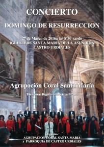 Coral Sta. María Domingo Resurección 2016