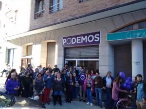Estreno Sede Podemos