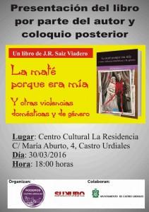 Presentación libro Sainz Viadero (Podemos)