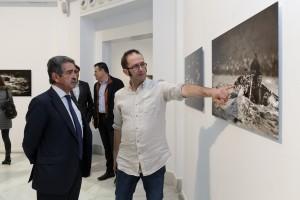 Expo Humberto en Sder Inauguración con Revilla (1)