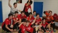 Castro FS B Infantil Campeón Copa Cantabria