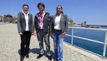 Cristina Morales, Carlos Toral y Ana Milena Responsables C´s Castro