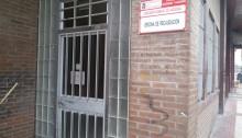 Oficina Regional de Hacienda cerrada