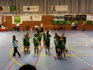 1er partido Fase Ascenso BM Chelines-La Jota (1)