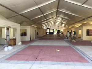 Instalación carpa Feria Stock Amestoy