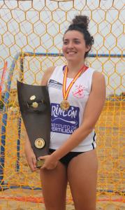 Natalia Sanz Campeona España Bm Playa