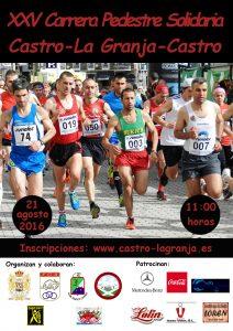 Subida a La Granja 2016. Cartel