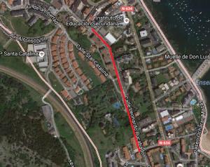 Leonardo Rucabado de 500 m sin acceso desde M. Pelayo