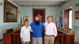 Recibimiento Carlos Tobalina en Ayto (3)