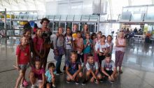Regreso a Bielorrusia niños Acobi