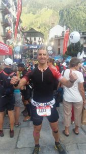 Santiago Rozas Ultra Trail Mont Blanc