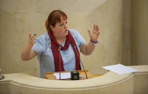 Verónica Ordoñez Podemos en Parlamento