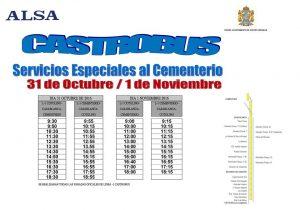 Castrobus Especial Cementerio 2016 en baja