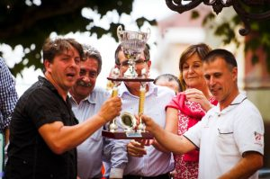 Gala Floral 2015. Paco y Lopez recogen 1er Premio