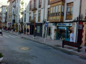 Comercios calle Santander