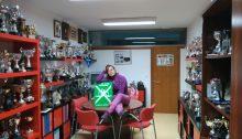 Ana Gonzalez Sala trofeos Kayak Club