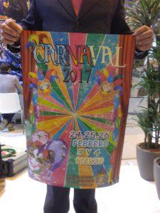 Carteles Coso Blanco y Carnaval 2017. Presentación en Fitur (3)