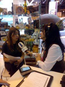 Patricia Camino en PR Fitur 17