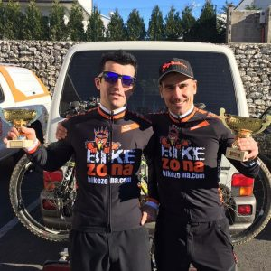 Arturo Anglada y Sergio Díez ciclocross