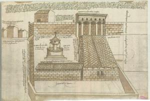 Convento Santa Clara boceto siglo xv