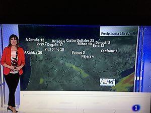TVE Castro record lluvias