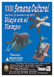 Cartel Semana Cultural 2017