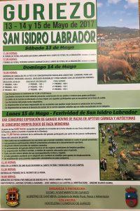 Feria de San Isidro Guriezo 2017. Programa