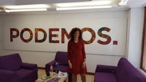 Rosana Alonso diputada Podemos
