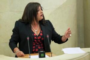 Alodia Blanco en Parlamento