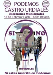 Asamblea Podemos decisión Elecciones Municipales