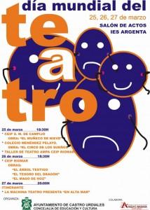 Día Mundial del Teatro. Cartel