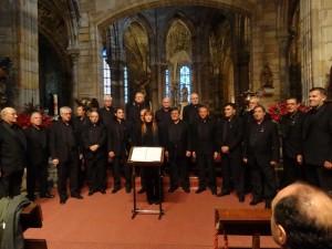 Los Templarios Misa San Andrés 2014