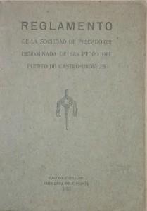 Original Reglamento Cofradia en Archivo
